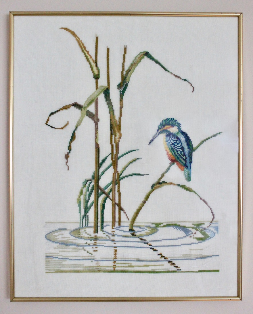 brodert bilde fugl