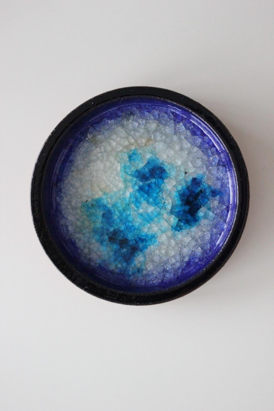 keramikkskål med krystall 2