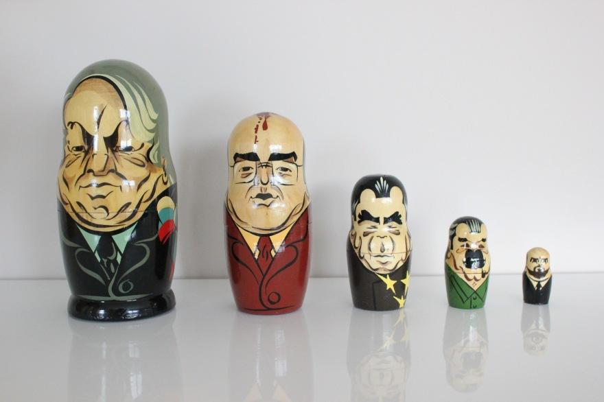 matrjosjka russiske statsledere